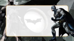 Batman Etiqueta Escolar para Imprimir
