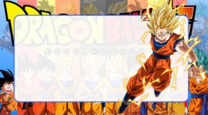 Dragon Ball Super Etiqueta Escolar para Imprimir