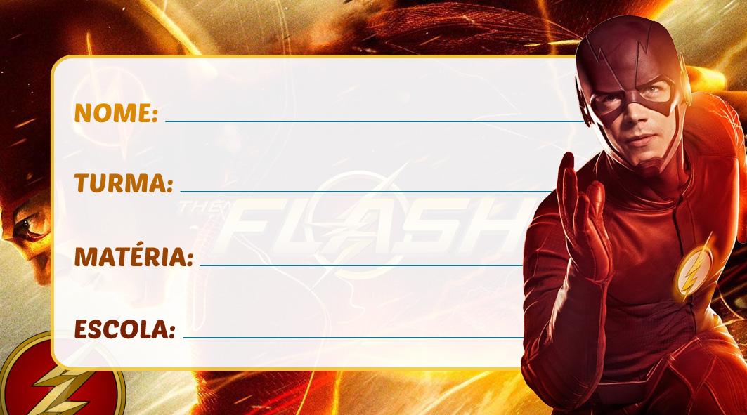 Etiqueta Escolar Flash