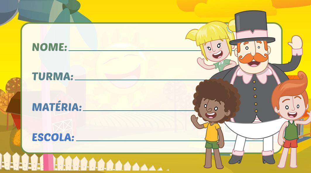 Etiqueta Escolar Mundo Bita