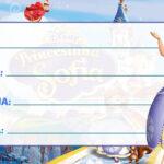 Etiqueta Escolar Princesa Sofia