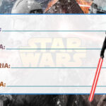 Etiqueta Escolar Star Wars