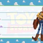 Etiqueta Escolar Toy Story