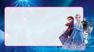 Frozen 2 Etiqueta Escolar para Imprimir