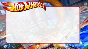 Hot Wheels Etiqueta Escolar para Imprimir