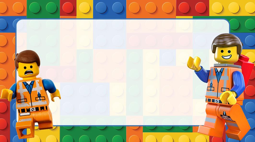 Lego Etiqueta Escolar para Imprimir