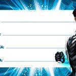 Max Steel Etiqueta Escolar Personalizada