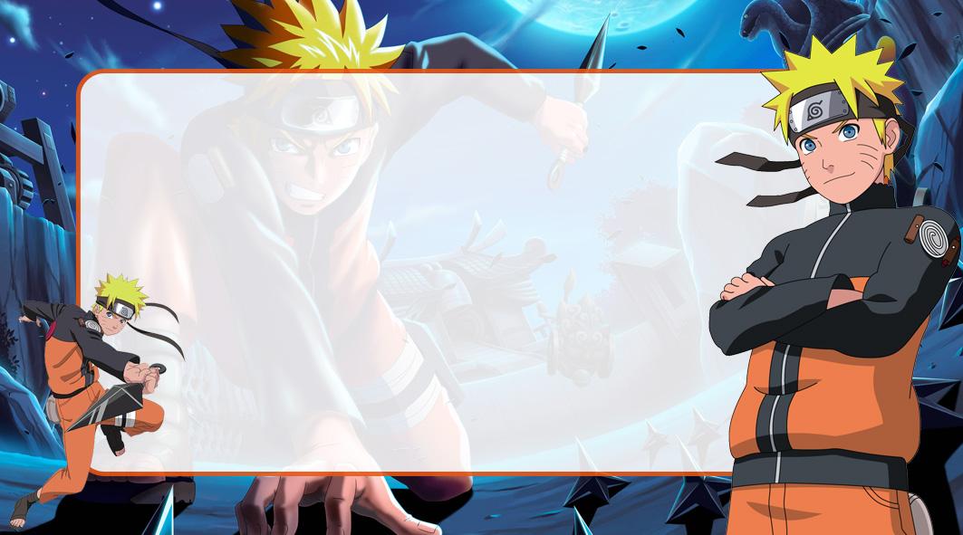 Naruto Etiqueta Escolar para Imprimir