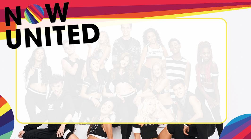 Now United Etiqueta Escolar para Imprimir