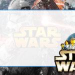 Star Wars Etiqueta Escolar para Imprimir