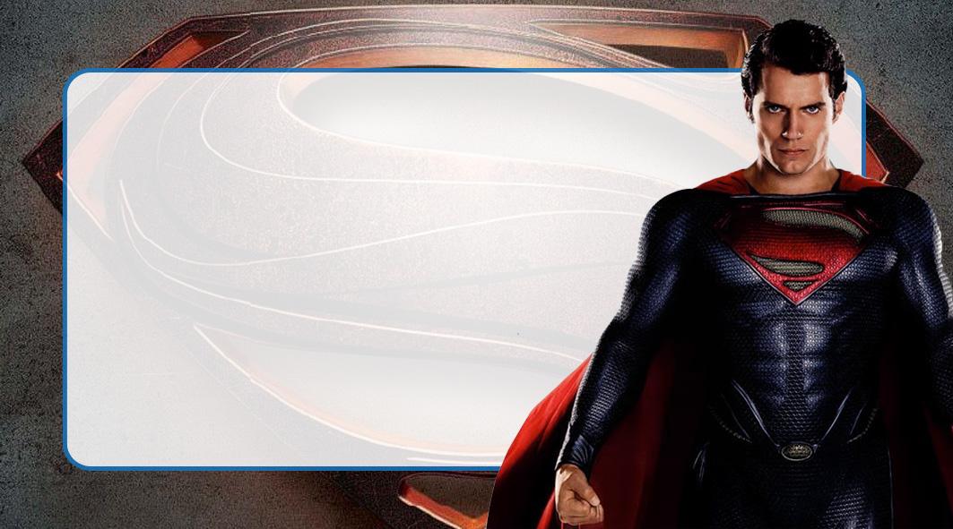 Super Homem Etiqueta Escolar para Imprimir