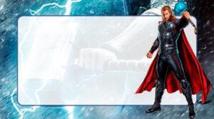 Thor Etiqueta Escolar para Imprimir