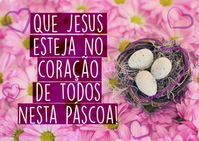Mensagem de Páscoa Jesus