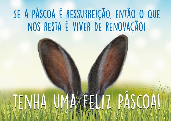 Mensagem de Páscoa Viver de Renovação