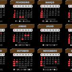 Base Calendário 2020 Madeira