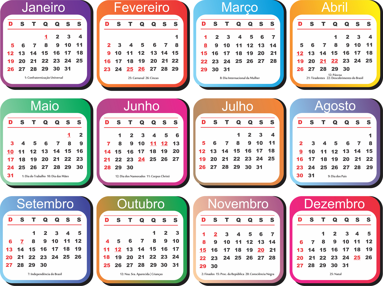 Calendario 2020 Semanas.Grade Calendario 2020 Varios Modelos Para Baixar Png Psd