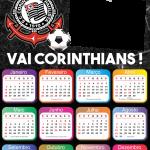 Calendário 2020 do Corinthians PNG