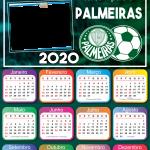 Calendário 2020 do Palmeiras PNG