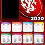 Calendário 2020 do Internacional PNG