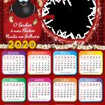 Moldura PNG Calendário 2020 Smilinguido
