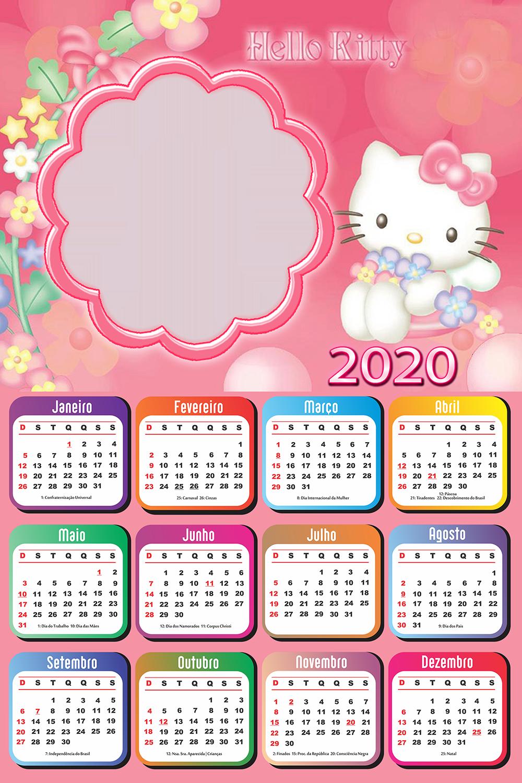 Calendario 2020 Hello Kitty Calendario 2019