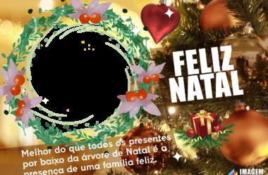 Molduras de Natal em PNG para Montagem de Fotos