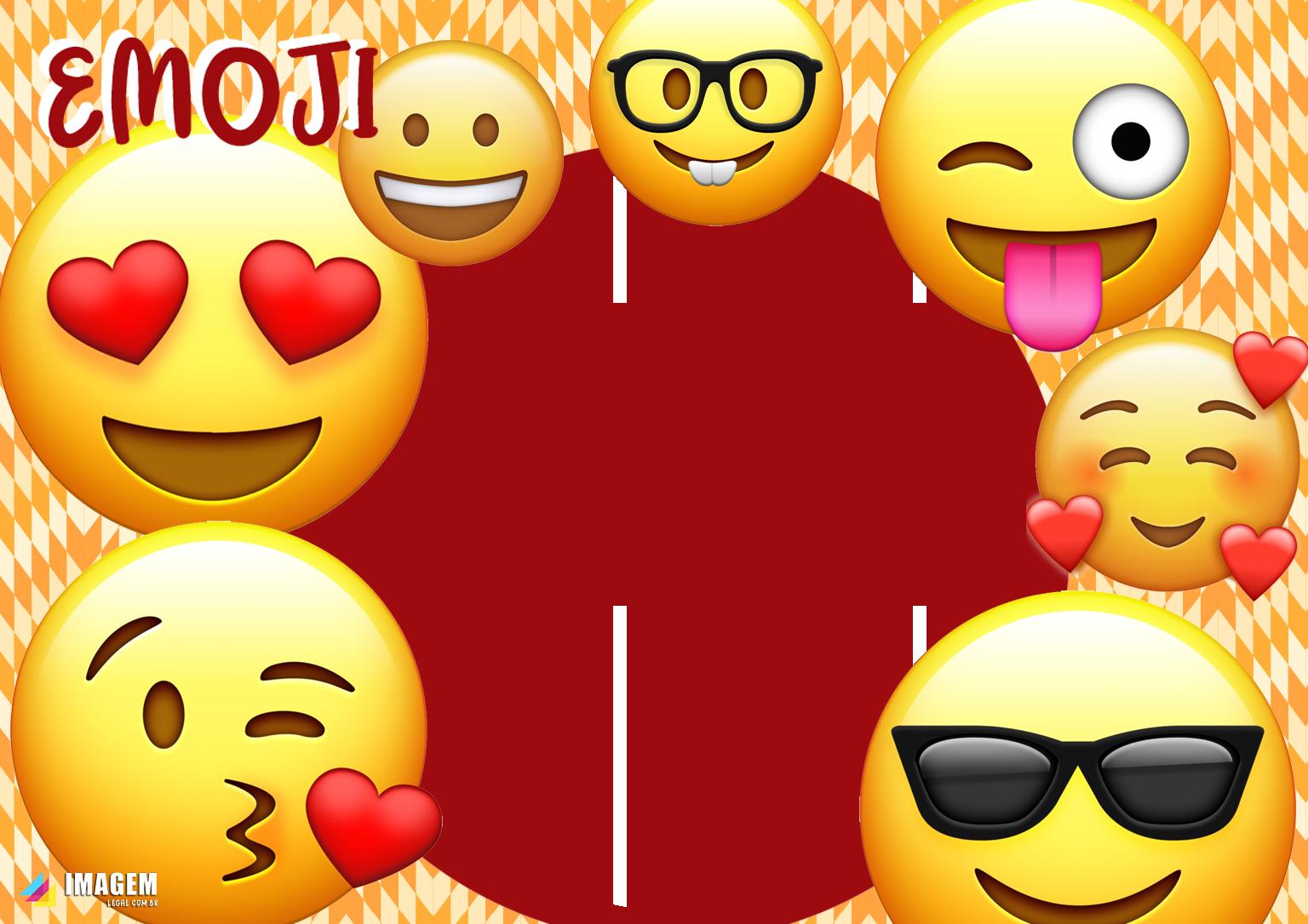 Emoji Moldura PNG