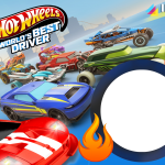 Hot Wheels Moldura PNG