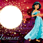 Jasmine Moldura PNG