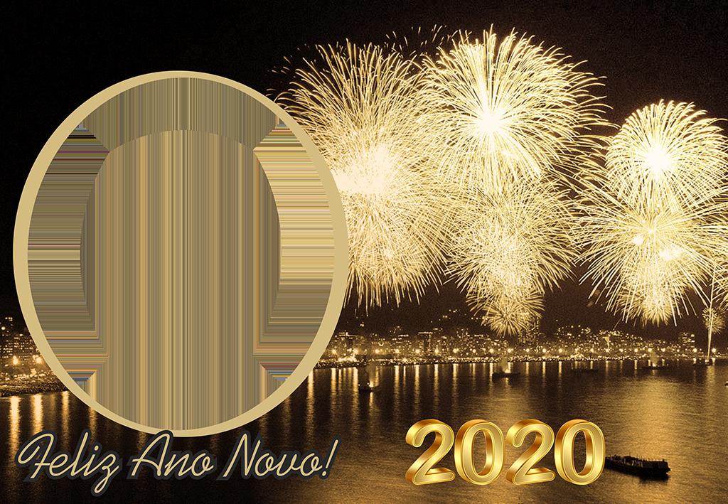 Molduras Ano Novo 2020 Réveillon Em Png Para Montagem De