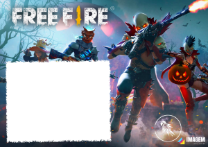 Moldura PNG Jogo Fire Free