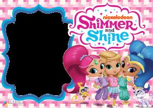 Shimmer e Shine Moldura PNG