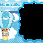 Ursinho Baloeiro Moldura PNG
