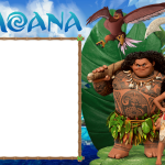 Moldura PNG Moana