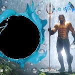 Moldura PNG Aquaman