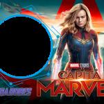 Moldura PNG Capitã Marvel