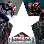 Moldura PNG Capitão América Guerra Civil
