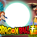 Moldura PNG Dragon Ball