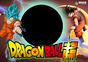 Moldura PNG Dragon Ball