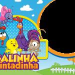 Moldura PNG Galinha Pintadinha