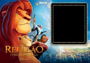 Moldura PNG O Rei Leão