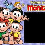 Moldura PNG Turma da Mônica