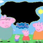 Peppa Pig Moldura PNG