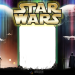 Star Wars Moldura PNG