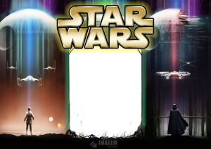 Star Wars Moldura PNG