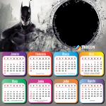 Moldura para Calendário 2021 Batman