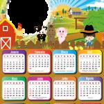 FotoMontagem Calendário 2021 Fazenda