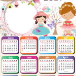 Calendário 2021 PNG Jardim Encantado
