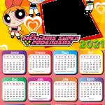 Calendário 2021 As Meninas Super Poderosas