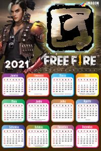 Calendário 2021 Free Fire Battlegrounds
